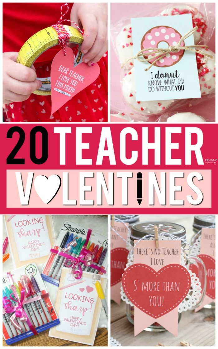 Teacher Valentine Printables