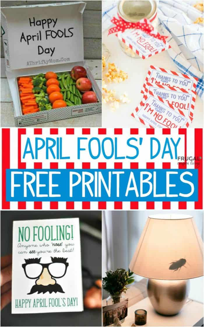 Free April Fools' Day Printables