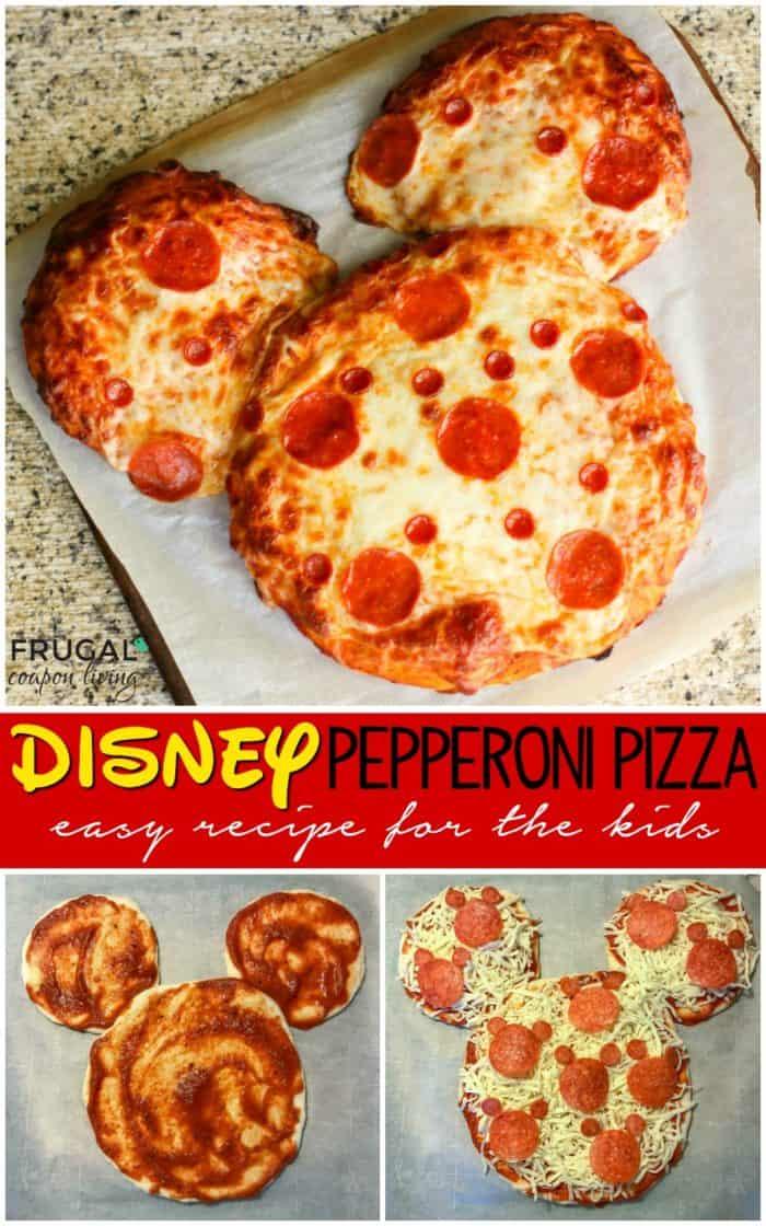 Copycat Disney Pizza Recipe