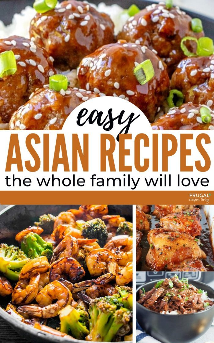 Quick Asian Recipes for 30 minutes
