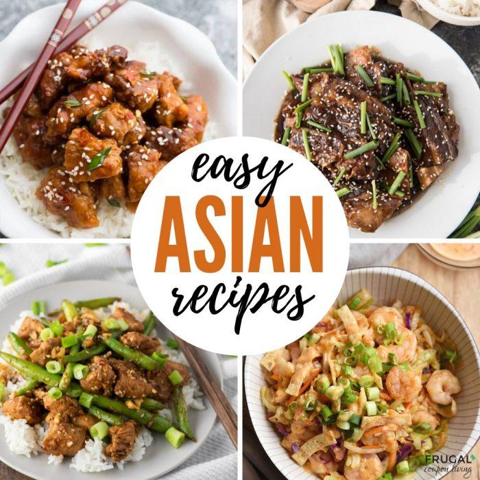 Asian Dinner Recipes for Family
