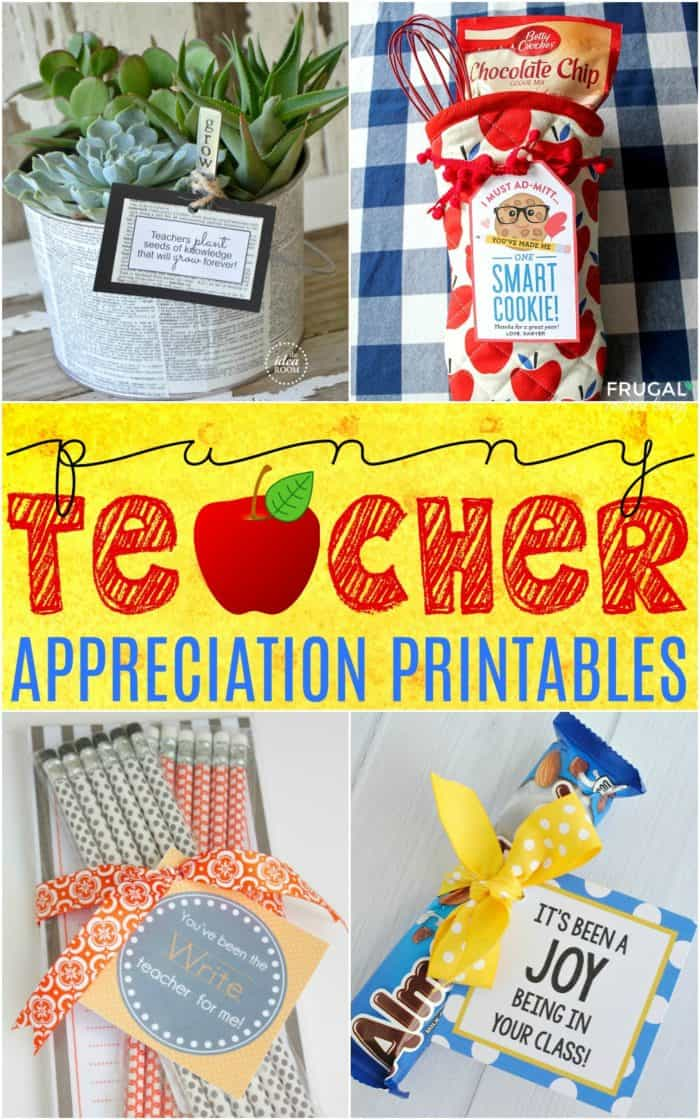 Punny Teacher Appreciation Gifts