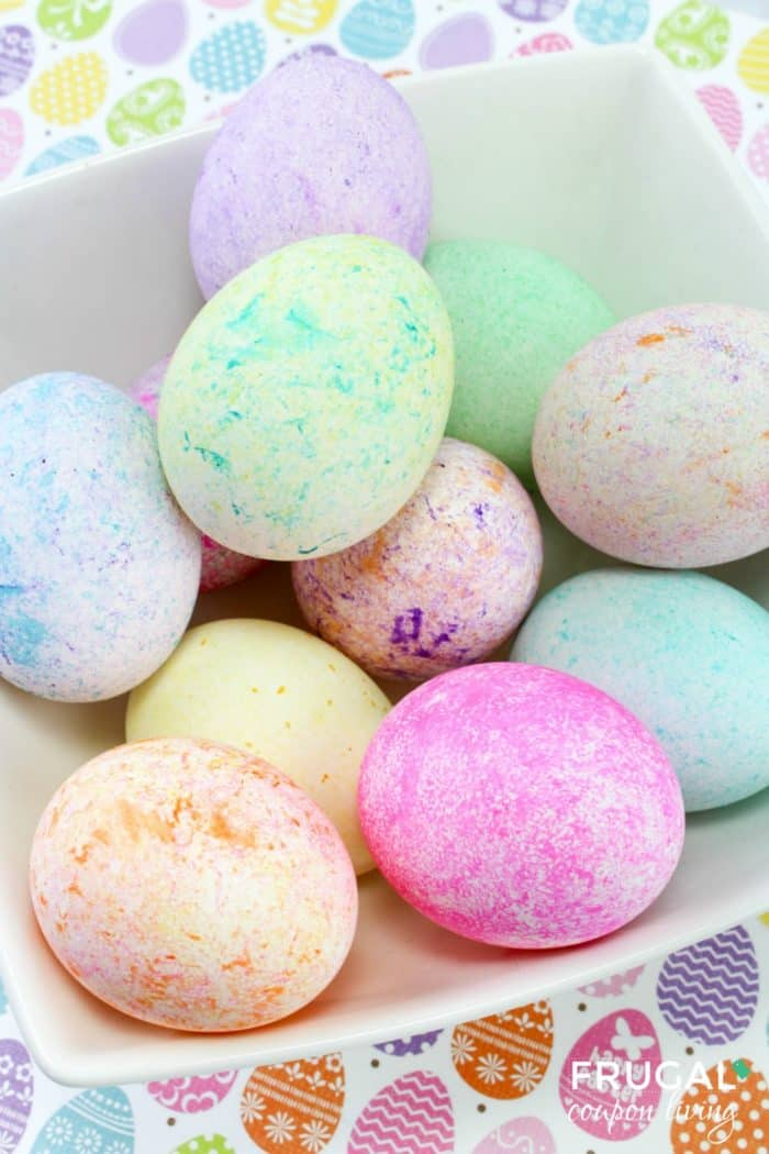 Easter Egg Dyeing Technique