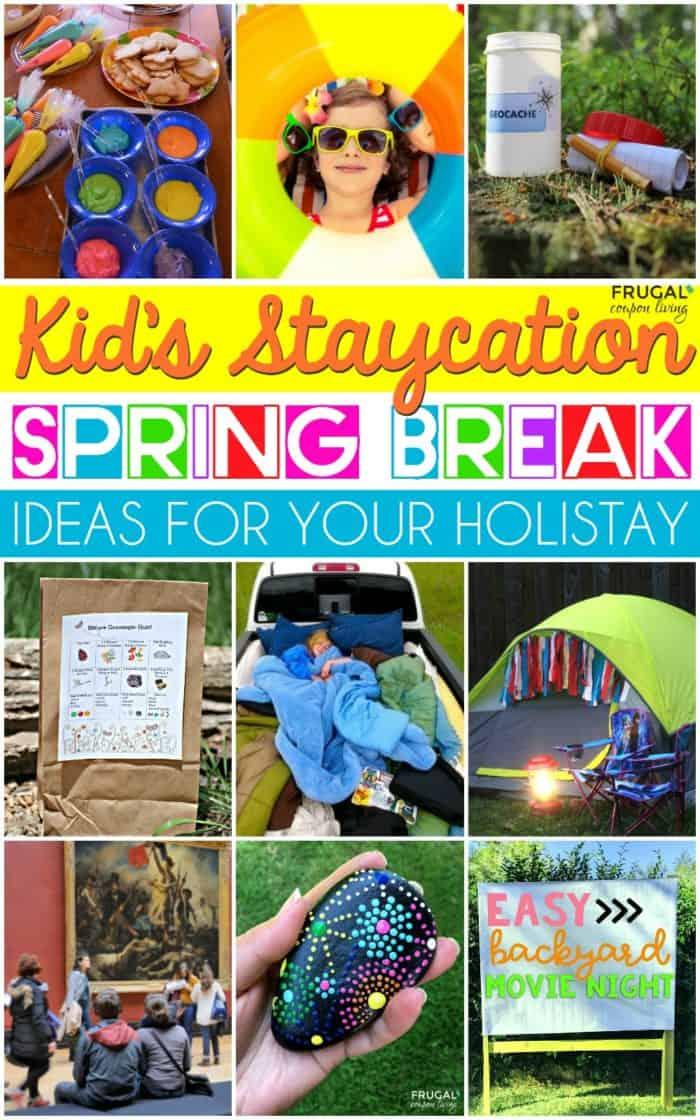 Holiday Spring Break Ideas for Kids