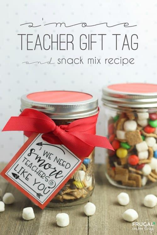 Smore teachers like you teacher appreciation gift tag