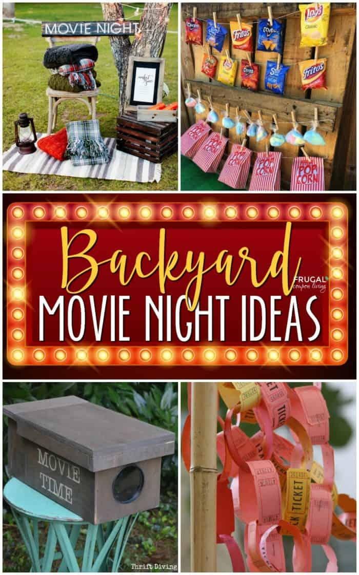 Backyard Movie Ideas