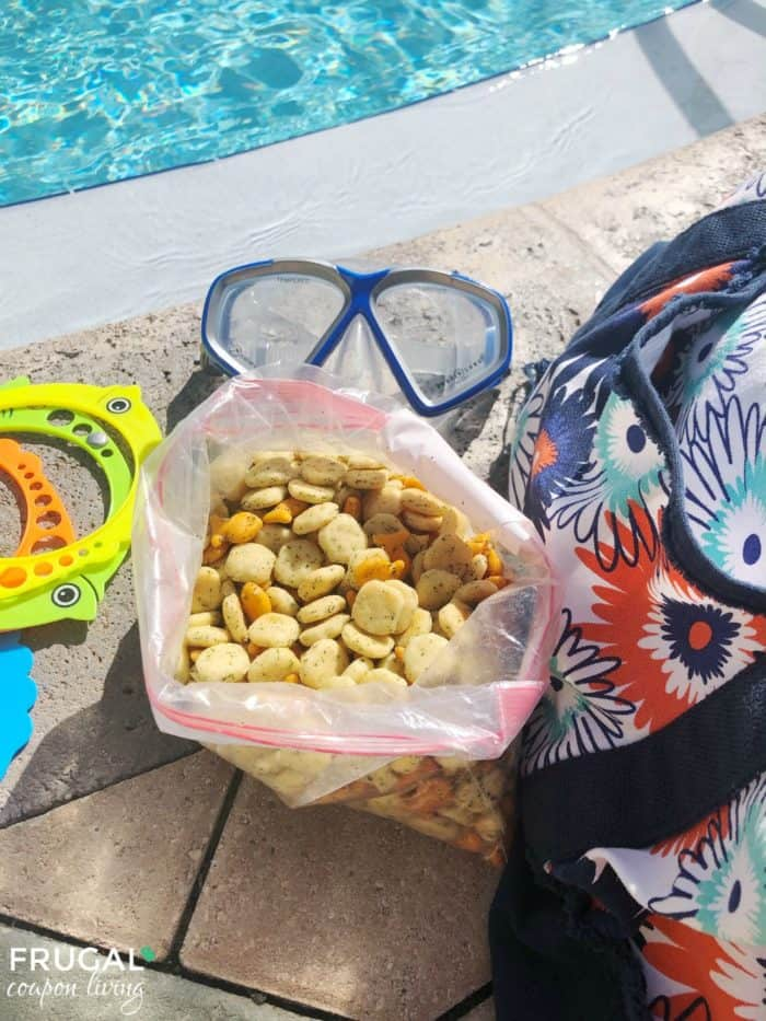 Poolside Snack Mix