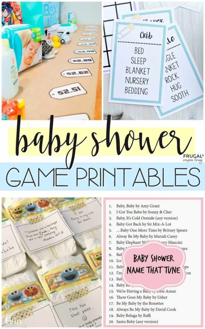 20 Baby Shower Games Printables You Will Actually Enjoy