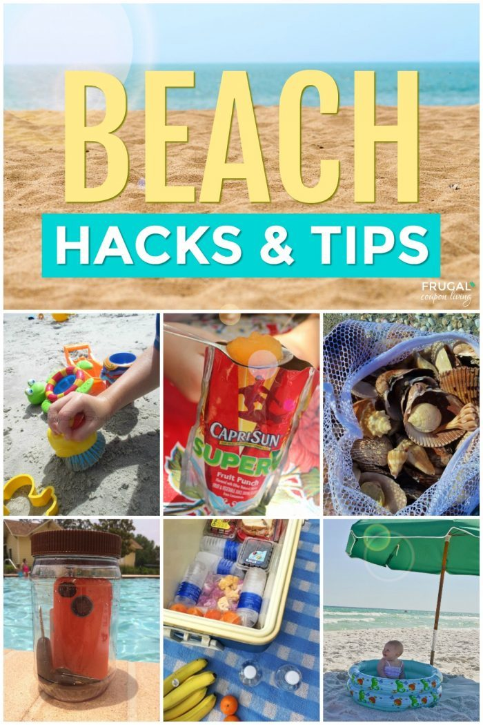 Beach Life Hacks and Beach Essentials for Travel