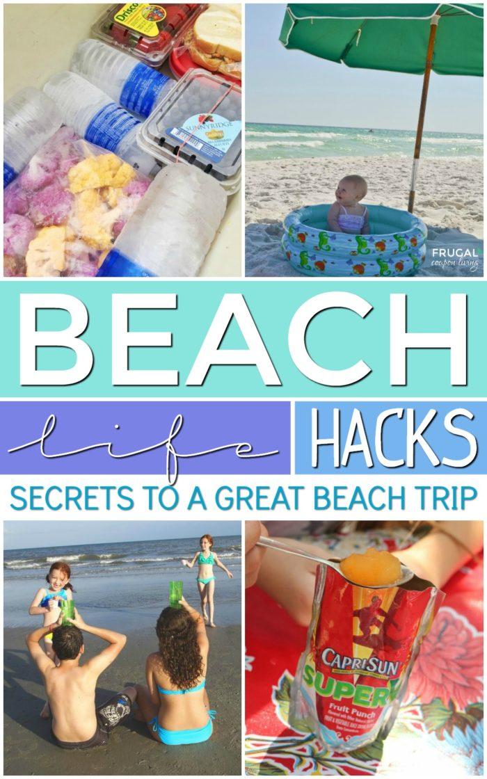 Beach Life Hacks