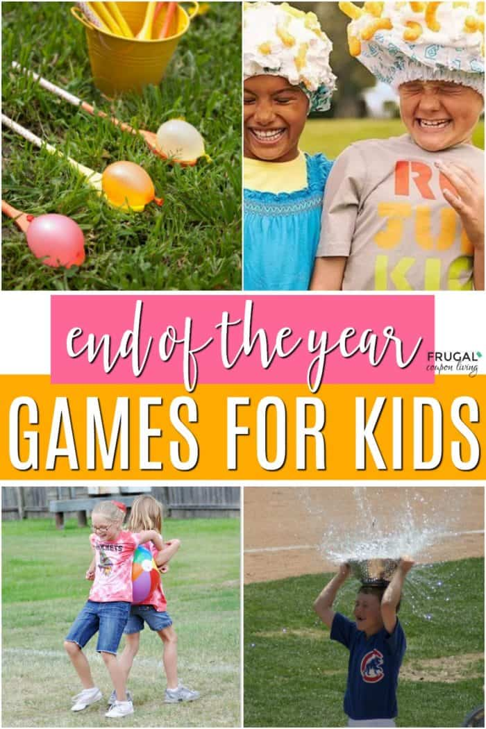 End of School Year Games for Kids