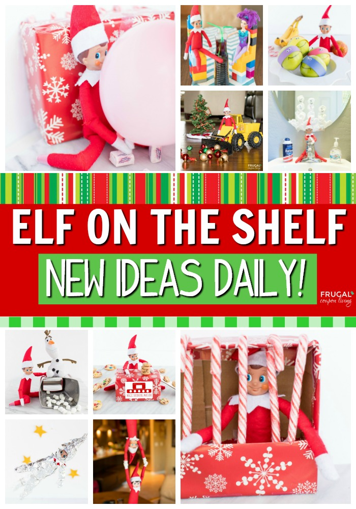 New Elf on the Shelf Ideas