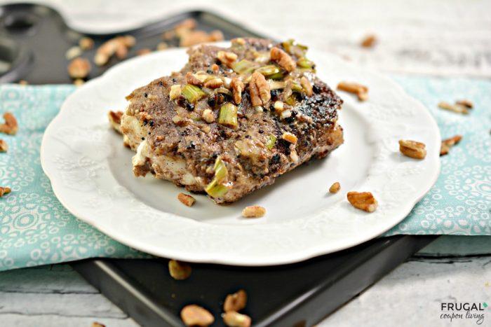 Ketogenic Pecan Crusted Fish Recipe with Cajun Cream Sauce