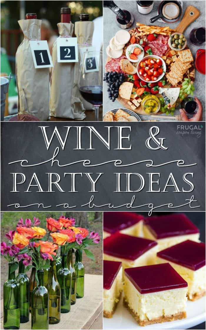 Wine and Cheese Party Ideas on a Budget