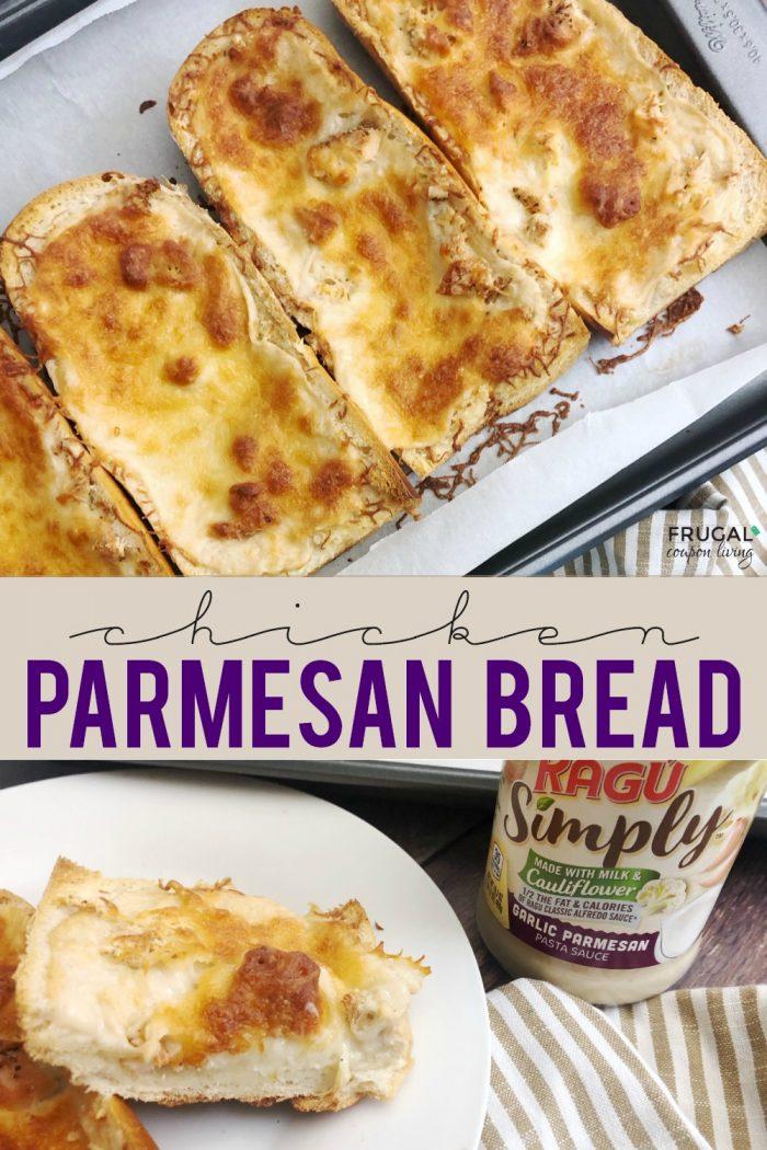 Chicken Parmesan Bread