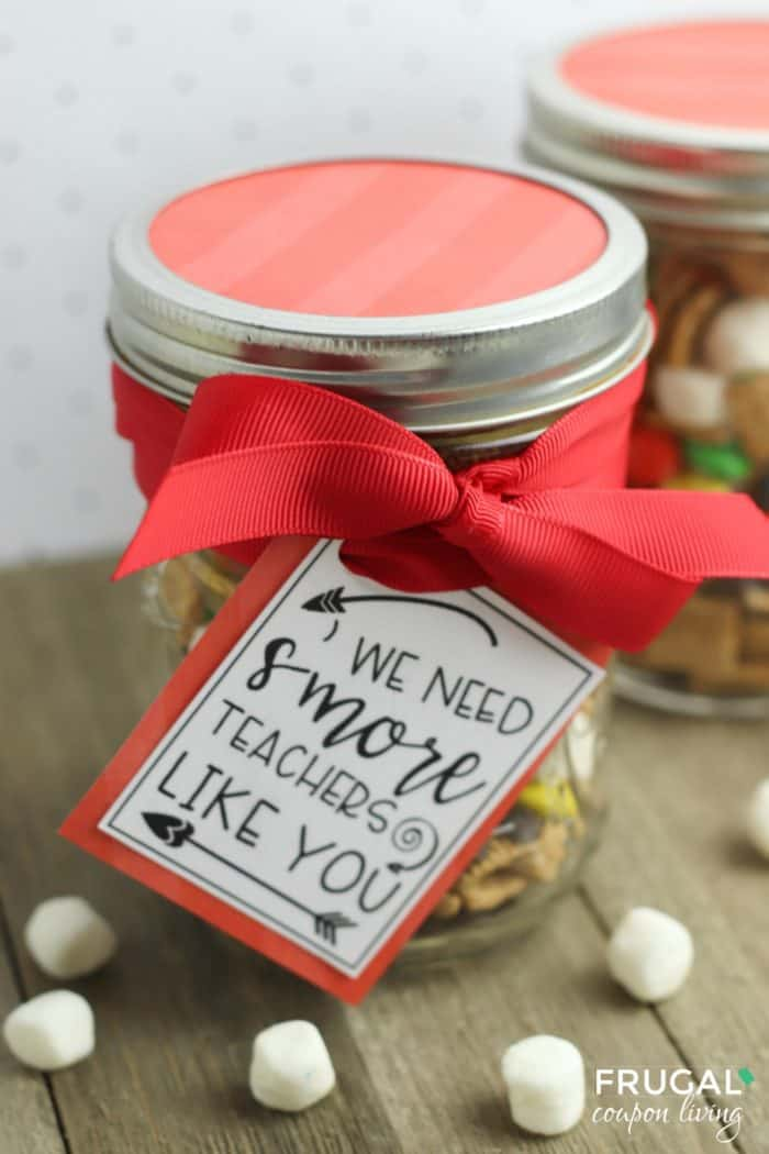 Mason Jar Gifts for Teachers