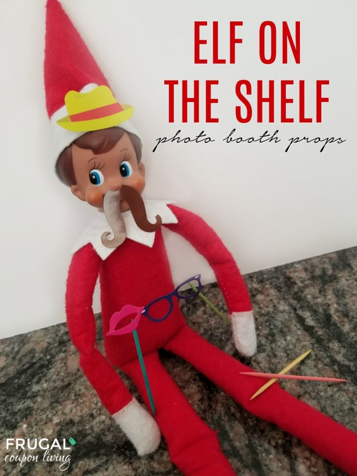 Elf on the Shelf Photo Booth Props Disguise