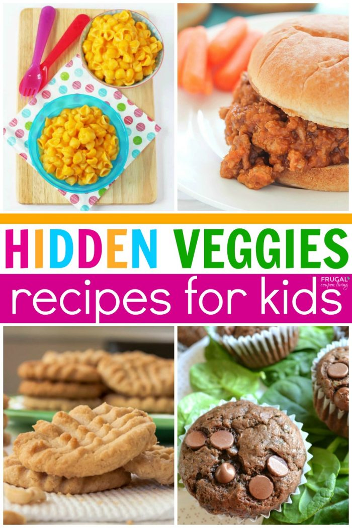 Hidden Veggie Recipes for Picky Eaters