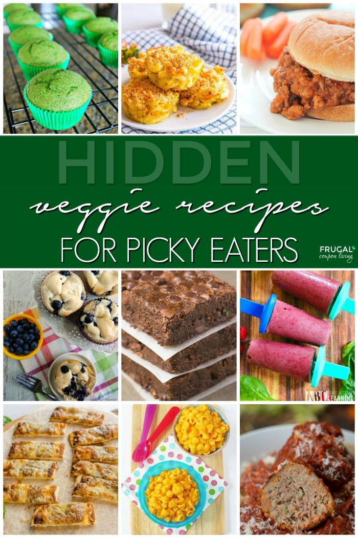 Hidden Vegetable Recipes for Kids