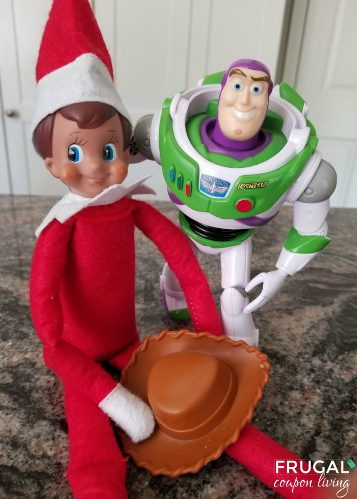 Elf on the Shelf and Toy Story