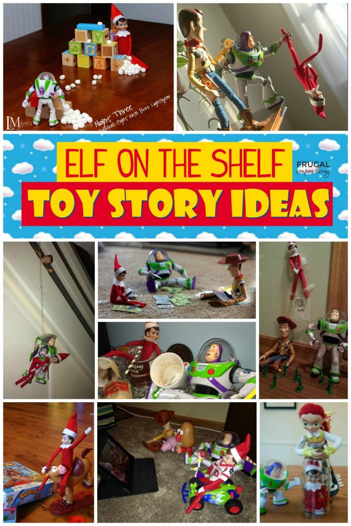 Toy Story Elf on the Shelf Ideas