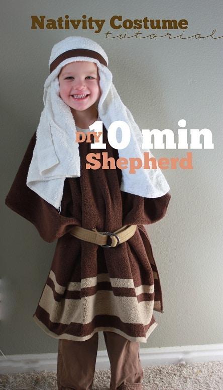 10 minute church Halloween shepherd costume