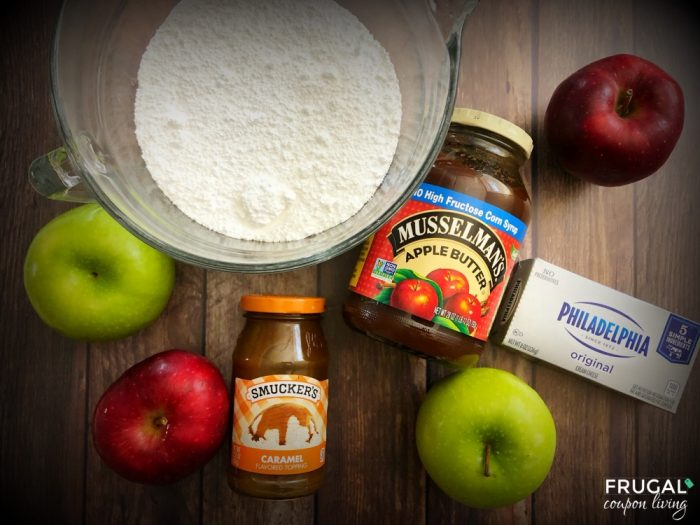 Cream Cheese & Caramel Apple Dip Ingredients