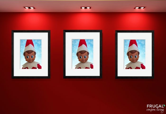 Elf on the Shelf Portrait Gallery Wall