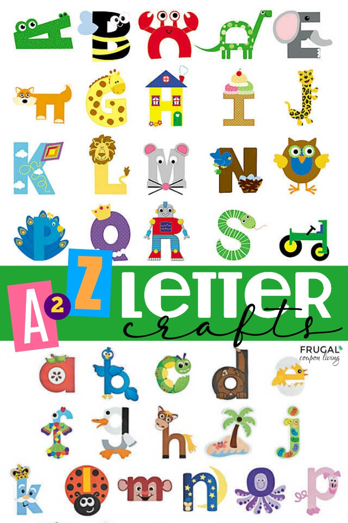 Preschool Letter Crafts