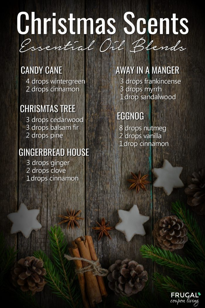Christmas Scents Essential Oils Blends