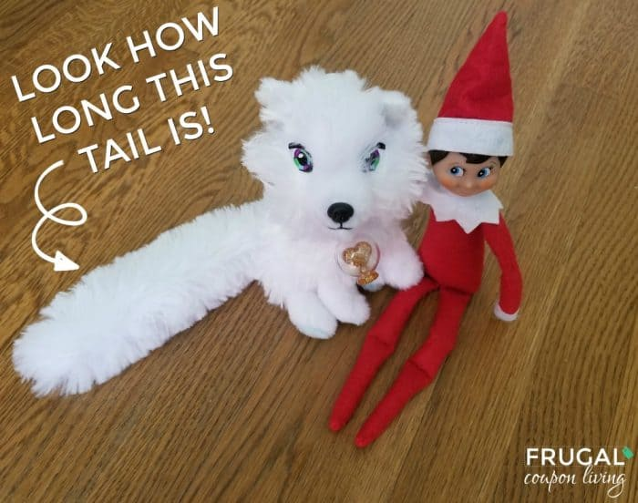 Elf on the Shelf Pets Arctic Fox