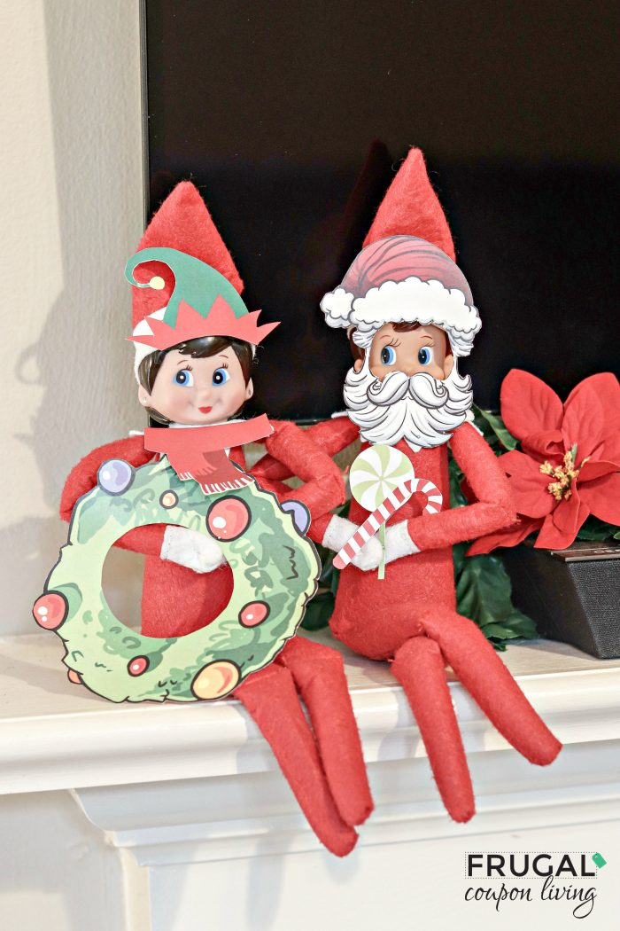Printable Elf on the Shelf Props