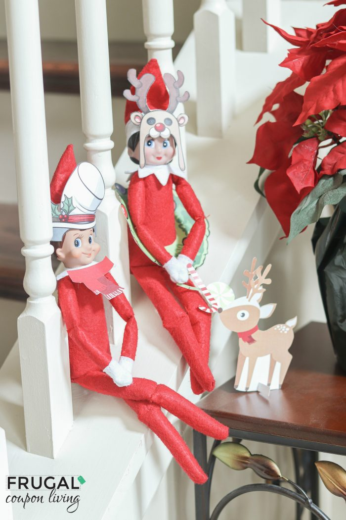 Elf on Shelf Photo Booth Props