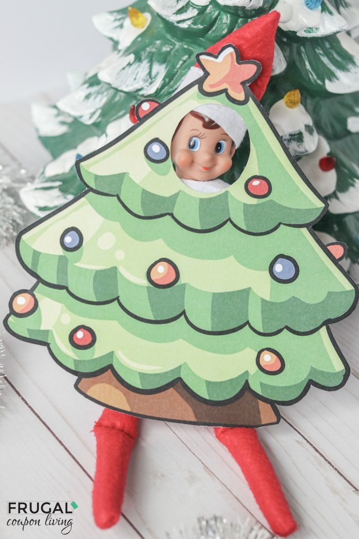 Elf on the Shelf Christmas Tree Costume