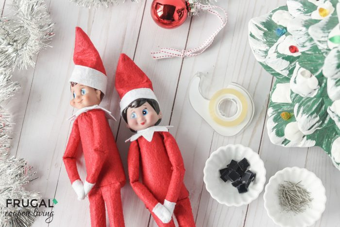 Elf on the Shelf Staging Supplies