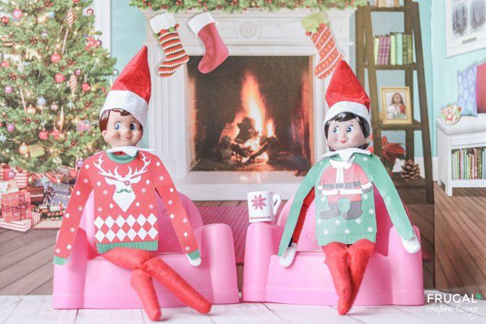 Elf on the Shelf Ugly Christmas Sweater Printable