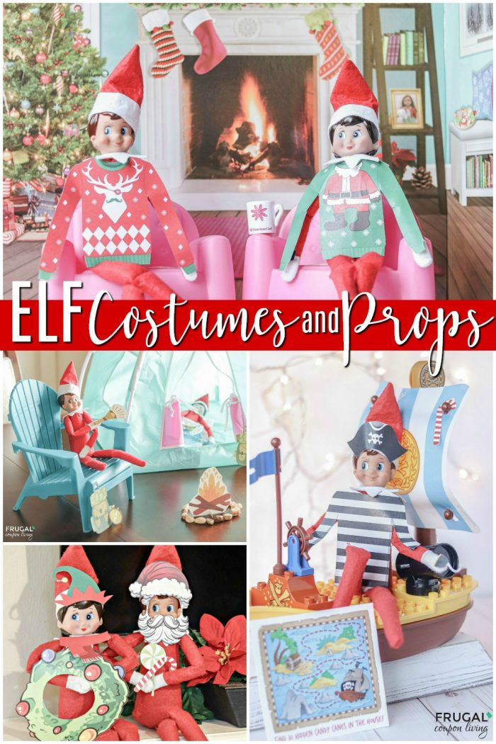 Elf Costume Printables for Scout Elf