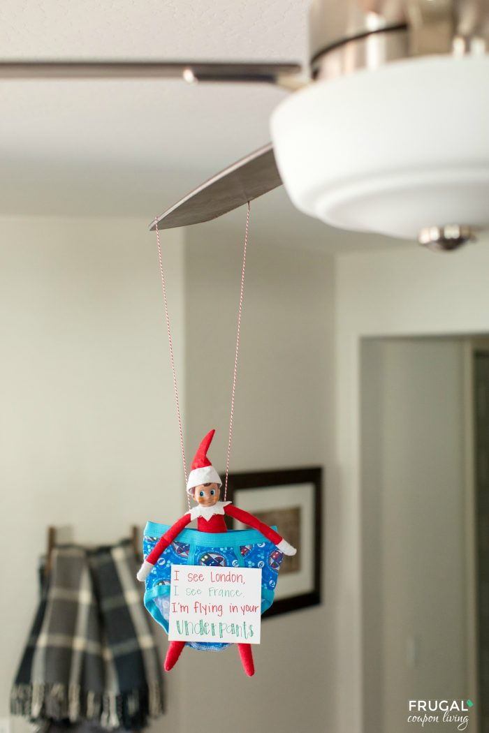 Elf on the Shelf Ideas for Toddlers | I see London, I See France...