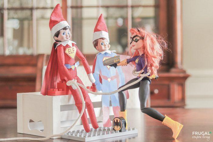 Elf on the Shelf Super Hero Costume Printable