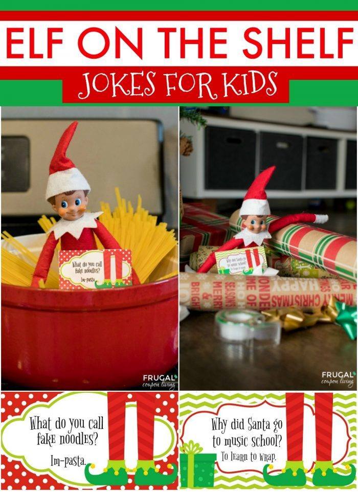 Elf on the Shelf Printables Jokes