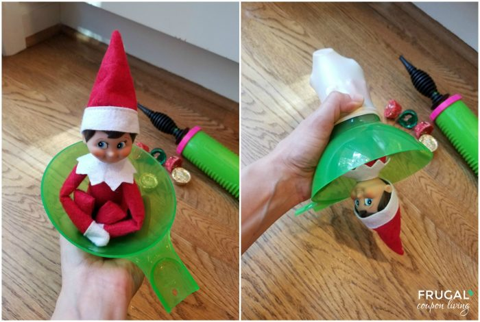 How to Stuff a Balloon with Elf on the Shelf