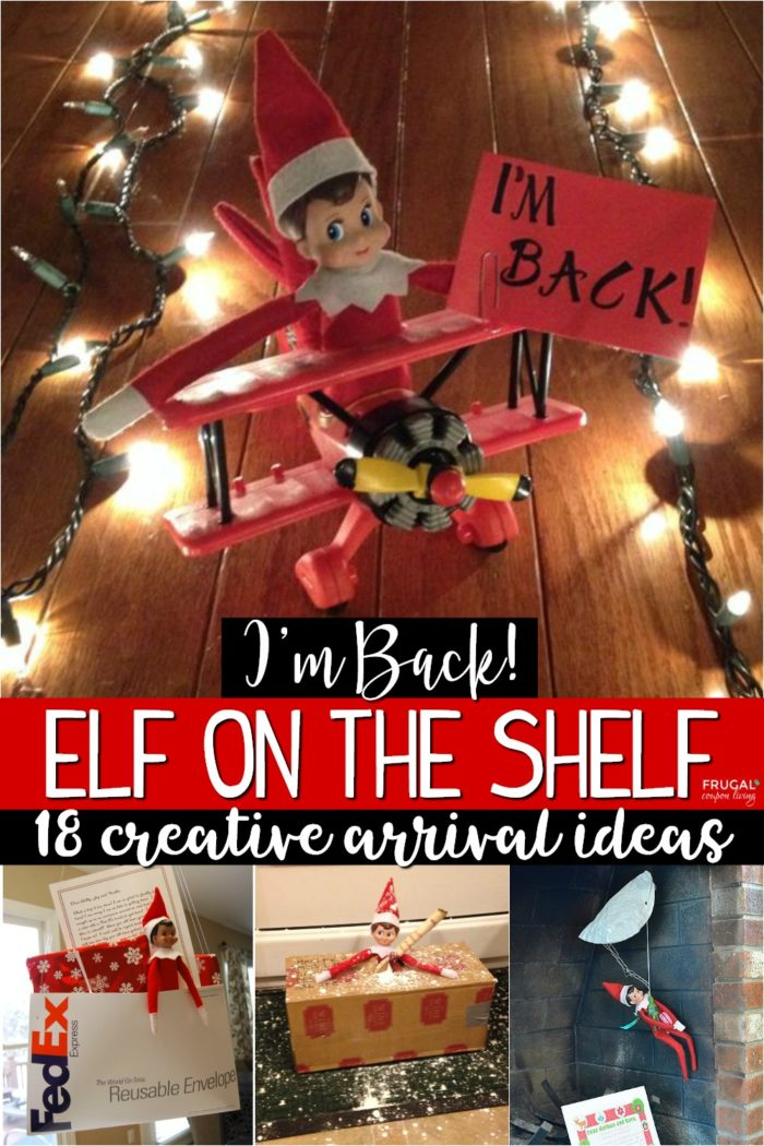 Return Elf on the Shelf Ideas for the First Night
