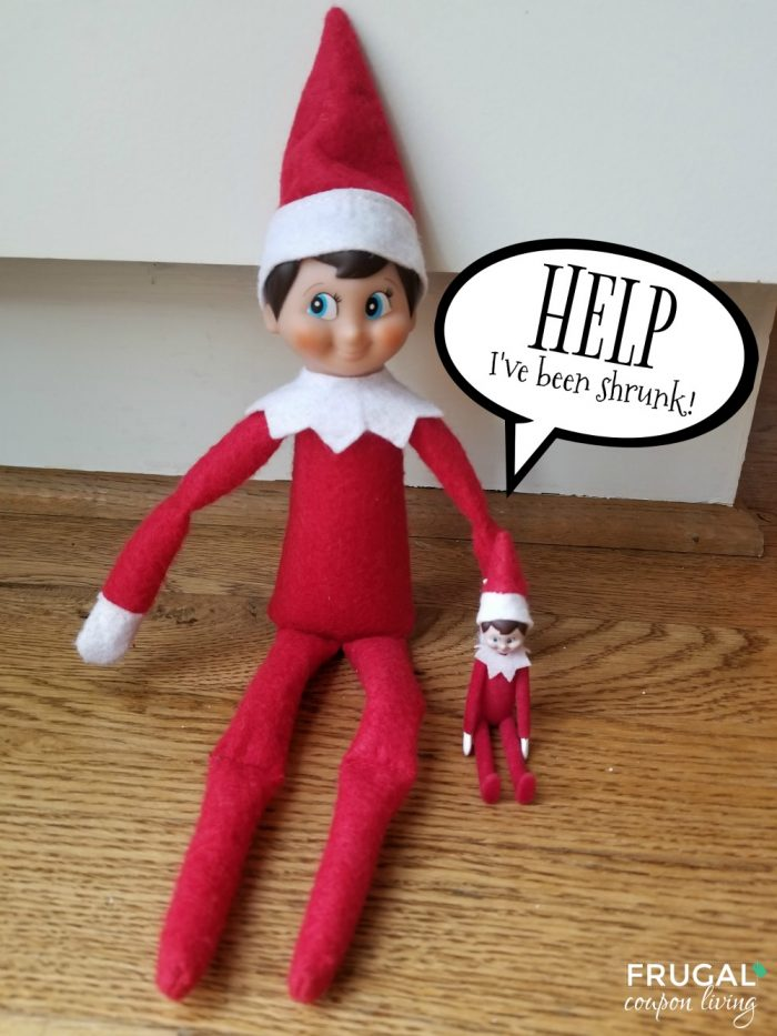 World's Smallest Shrunk Elf on the Shelf Ideas for Two Elves