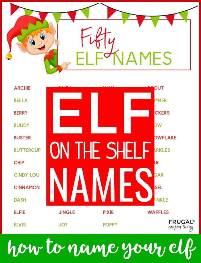 How to Pick an Elf on the Shelf Name