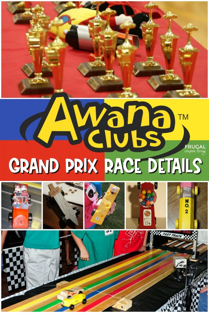 Awana Grand Prix Race Cars, Template, Rules