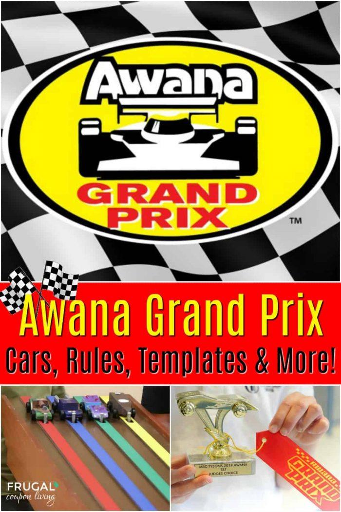 Awana Grand Prix Rules, Templates and Cars
