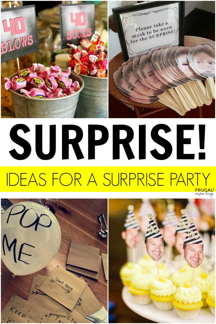 Surprise Birthday Party Hacks and Ideas