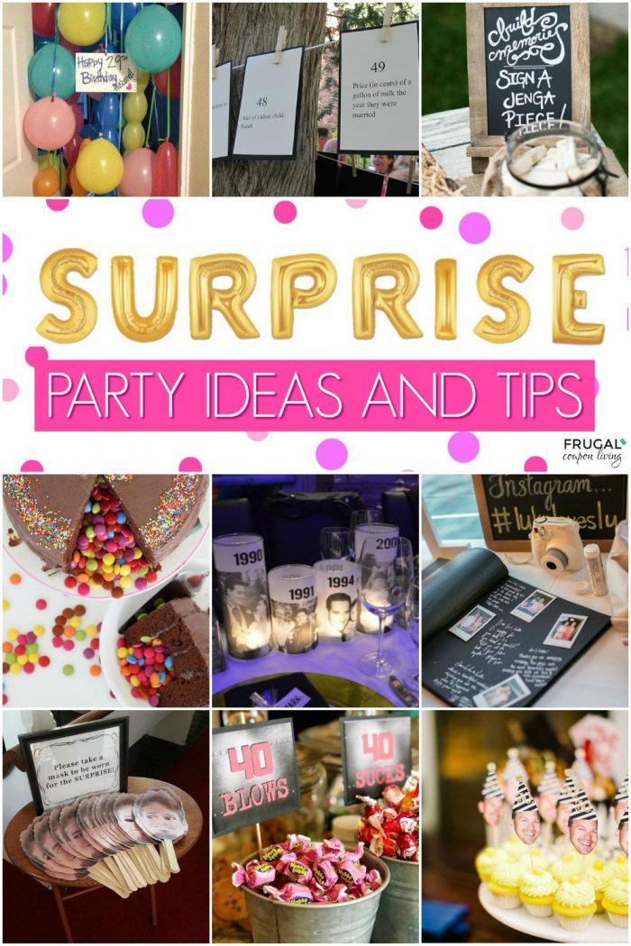 Surprise Birthday Party Ideas and Tips