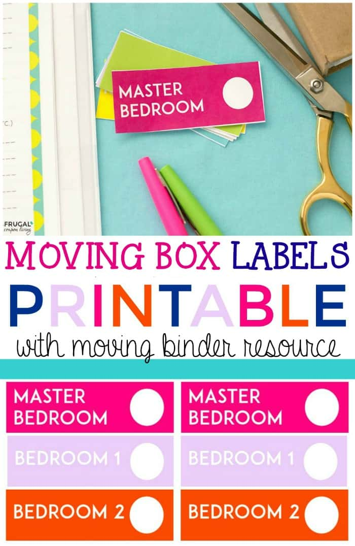 Moving Labels Printable