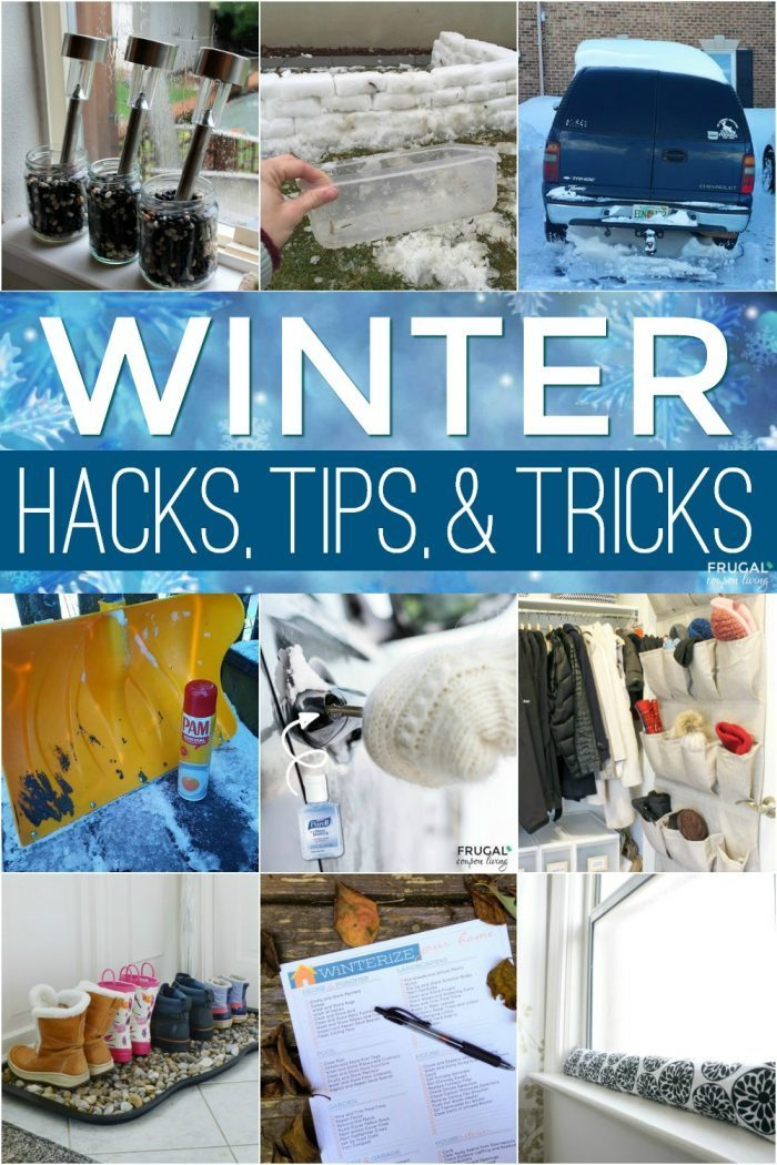 Winter Life Hacks and Tricks